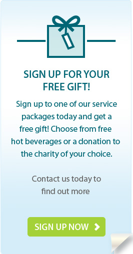 SIGN UP FOR YOUR FREE GIFT!