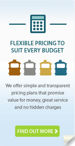 Flexible pricing to suit every budget. Find out more.